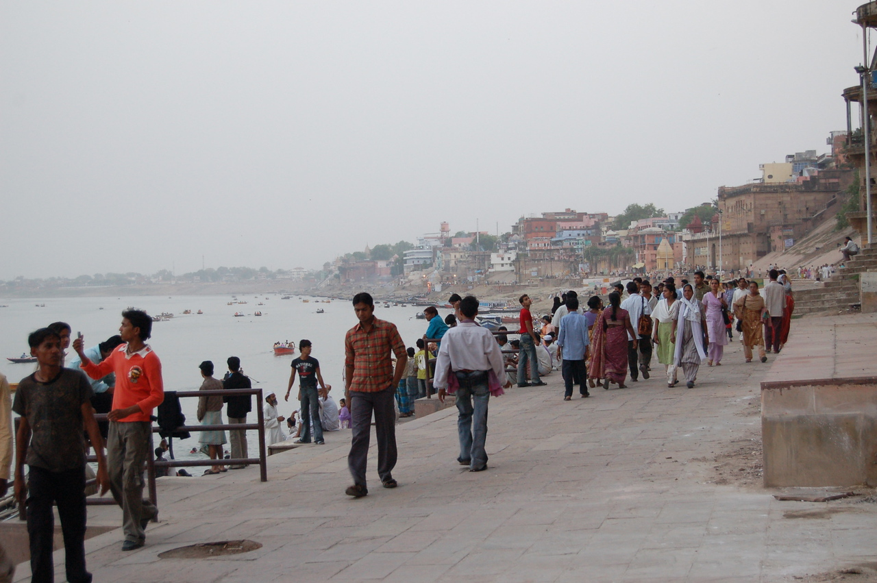 At the ghats
