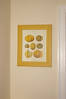 My melon print, from Lina's parents, framed and hanging in my kitchen