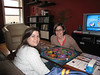 Melissa and Emily (I won Trivial Pursuit by the way. Turns out having a PhD does not mean you have an abundance of pop culture knowledge)