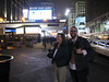 Dave and Melissa outside Madison Square Garden