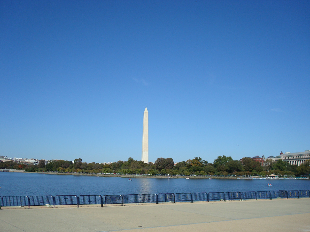 View from Jefferson Memorial