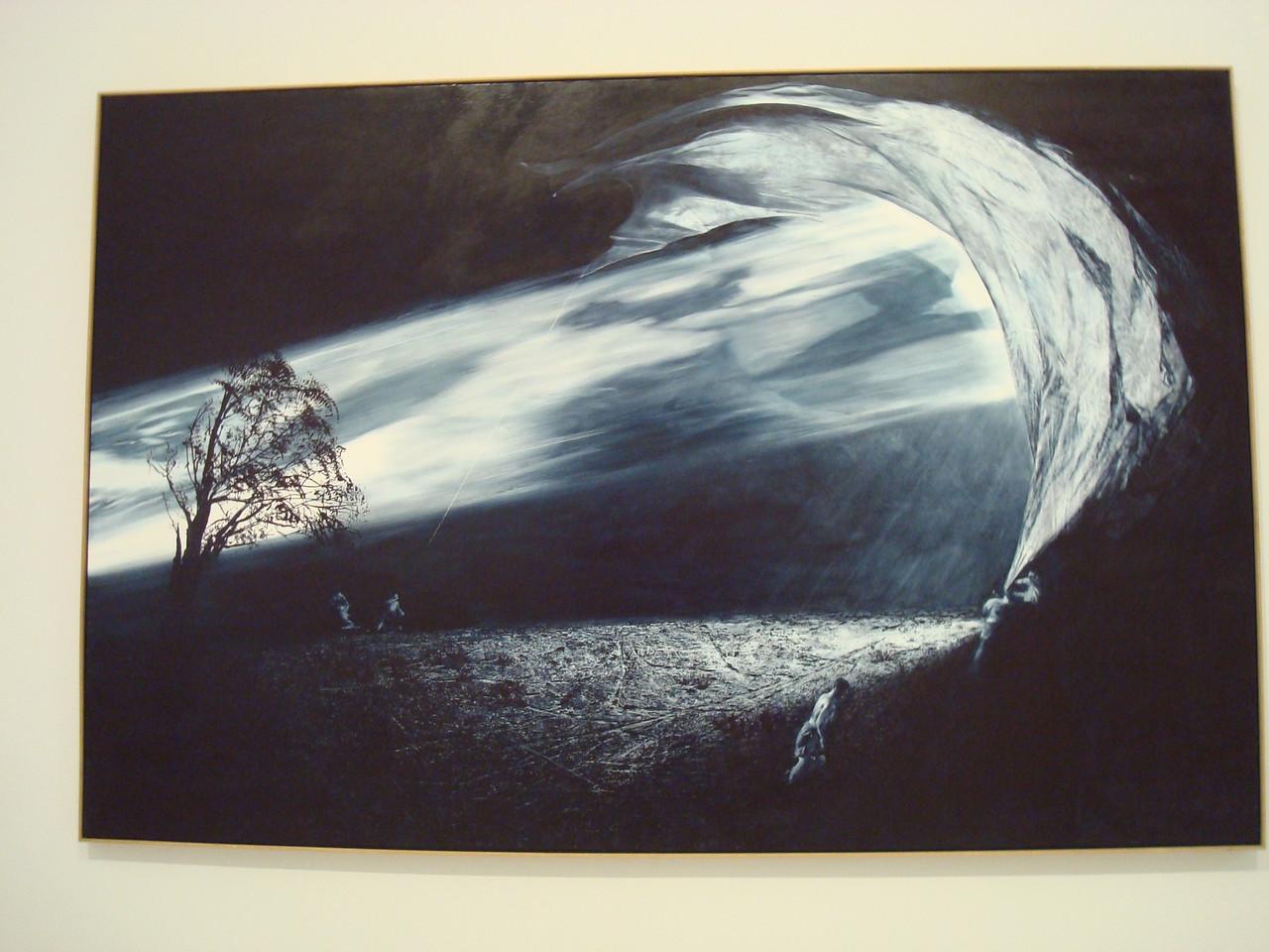 Interception, Mark Tansey (Smithsonian American Art Museum)