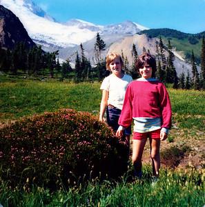Rick and Ann at Summerland, 1976 (?)