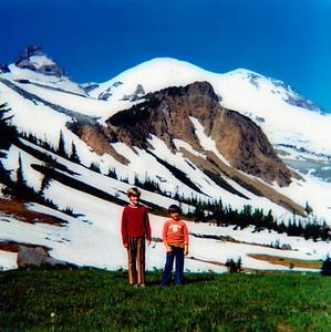 Rick and Ann at Summerland, 1972