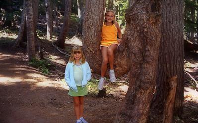 Emily and Elena, Elephant Tree, 2005