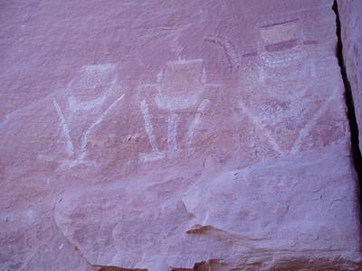 Ancient Anasazi pictograph - Imani Joseph