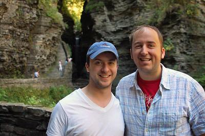 Adam & I in the Glen