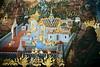 mural wat phra kaeo grand palace bangkok thailand