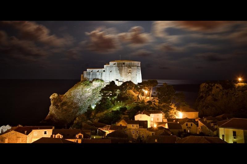 lovrijenac old fortification dubrovnik croatia