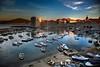 Old town harbour, Dubrovnik, Croatia.