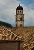st saviour church spire dubrovnik croatia