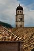 st saviour church spire dubrovnik croatia