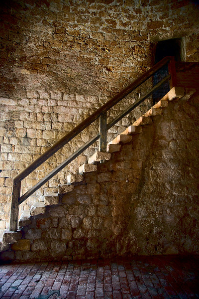 stairs city wall dubrovnik croatia