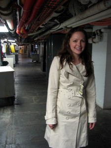 Elfije in the basement of the Eisenhower Executive Office Building