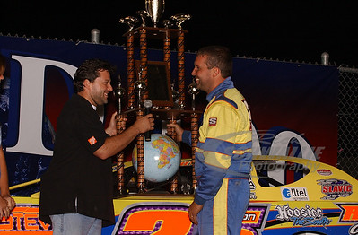 Shane Clanton and Tony Stewart