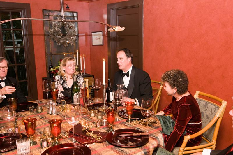 12-06-08 Xmas Party - Paul, Carol, Steve, Cher
