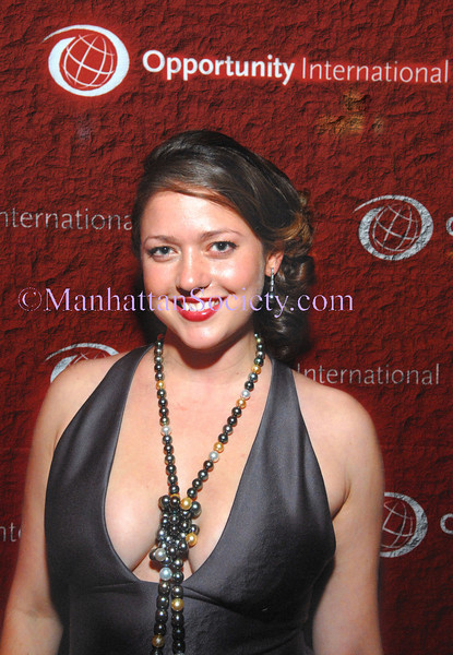 "NEW YORK-OCTOBER 11: Liesel Pritzker co-chairs Young Ambassadors for Opportunity (YAO) ""Financing the Future"" benefit to Kick Off Campaign to Benefit Tanzania Opportunity International at Guastavino's, 409 East 59th Street, New York City on Saturday, October 11, 2008 (Photo Credit: Christopher London/ManhattanSociety.com)"