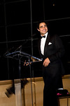 NEW YORK-OCTOBER 30: Zac Posen addresses guets at  Young Patrons of Lincoln Center Fall Masquerade Gala honoring Zac Posen at the Allen Room at The Rose Building, Time Warner Center, New York City,  NY on Thursday, October 30, 2008 (Photo Credit: Erica Leone)