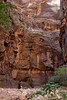 The immense walls of the canyon are incredible, towering hundreds of feet overhead in all directions.