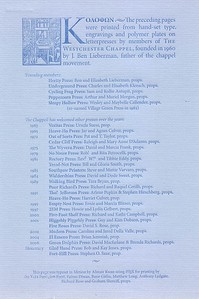 Colophon, 2008, Yale Pressicon Press