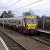 334028 at Hamilton Central with the 11:42 Milngavie - Lanark 23/02/08