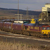 66166 loads at Onllwyn with the 20:13 departure to Aberthaw Power Station 07/04/08