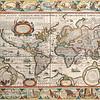Antique Maps of the World<br /> The Americas<br /> Pieter Van Den Keere<br /> c 1628