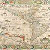 Antique Maps of the World<br /> The Americas<br /> Nicolas Visscher<br /> c 1658