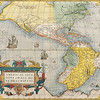Antique Maps of the World<br /> The Americas<br /> Abraham Ortelius<br /> c 1579