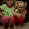 playing and dancing before school one morning