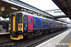 080701-061     A pair of First Great Western class 153 units no's 153382 & 153370 are seen at Exeter St Davids.