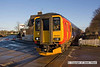 081206-019     East Midlands Trains class 156 unit no. 156403, captured pulling into Thurgaton with the 09.23 Lincoln Central - Leicester.