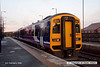080202-003     Northern Rail class 158 unit no 158860 calls at Shireoaks with the 07.04 Lincoln to Sheffield.