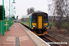 080215-010    East Midlands Trains class 156 unit no 156413 calls at Newstead with the 13.37 Mansfield Woodhouse to Nottingham.