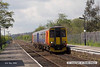 080502-001     East Midlands Trains class 156 unit no 156406 calls at Burton Joyce with the 11.35 Lincoln Central to Leicester.