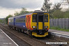 080502-009     East Midlands Trains class 156 unit no 156403 calls at Burton Joyce with the 12.35 Leicester to Lincoln Central.