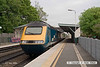 080504-003     A East Midlands Trains HST led by class 43 no 43052 is seen passing Beeston with the 11.43 Nottingham to London St Pancras. 43049 was at the rear.
