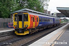 080504-046     East Midlands Trains class 156 unit no 156408 calls at Beeston with the 15.12 Derby to Nottingham.