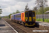080502-003     East Midlands Trains class 156 unit no 156406 calls at Burton Joyce with the 11.35 Lincoln Central to Leicester.