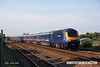 080630-012     A FGW HST with 43140 leading & 43063 at the rear, seen speeding through Dawlish Warren with the 16.06 London Paddington - Penzance.