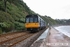 080705-016     First Great Western class 142 pacer unit no. 142068 passes along Teignmouth sea wall with the 10.20 Exmouth - Paignton.
