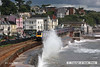 080706-004     First Great Western  class 43 no. 43002 dodges the waves as it passes through Dawlish, leading the 07.57 London Paddington - Penzance.