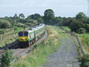 234 reaches the summit of Ballybrophy bank with the 1000 Heuston - Cork. Sun 31.08.08