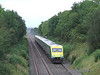4005 is seen north of Ballybrophy with the 0830 Cork - Heuston. Loco 228 was at the rear. Sun 31.08.08