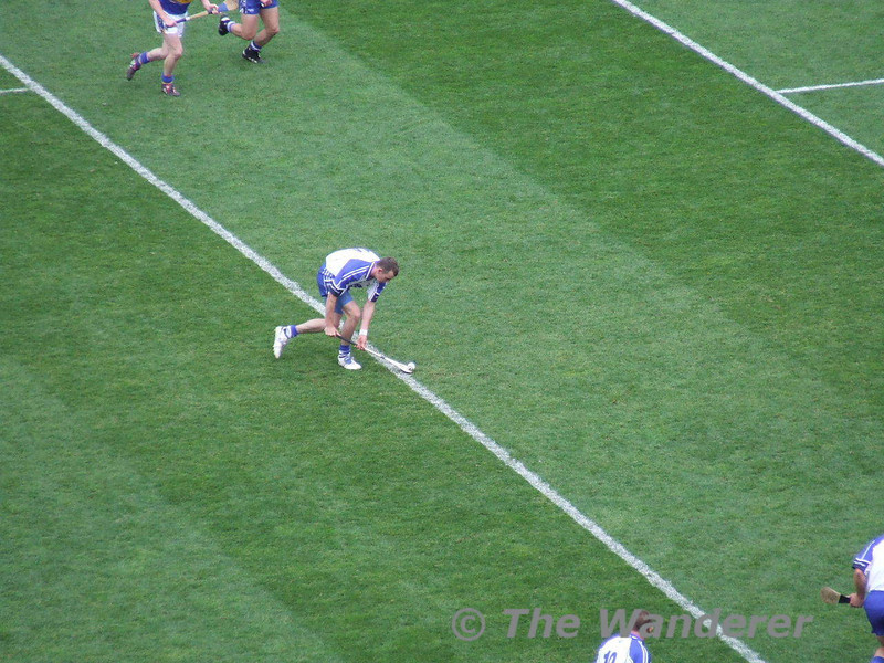 Waterford's Eoin Kelly takes a free.