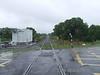 Kiltartan Level Crossing towards Gort. Wed 18.06.08