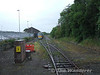 22018 + 22025 are locked into the siding to allow the 1010 Ballybrophy - Limerick to leave Roscrea. Wed 18.06.08