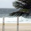 Waves Crash at Ipanema