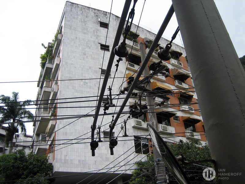 Buildings and Power Around Corcovado Station