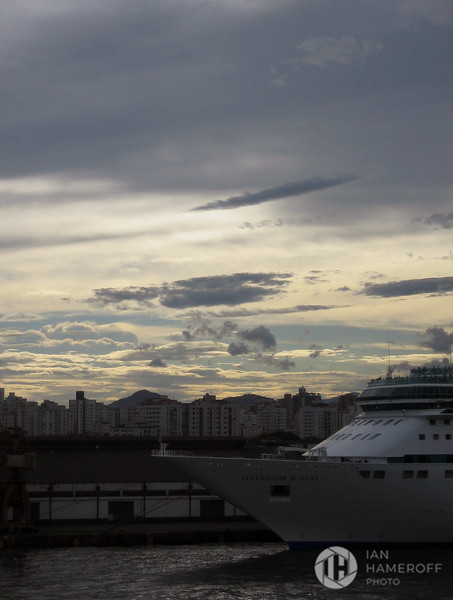 Sunset Over Santos